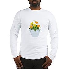Marigold Butterfly Long Sleeve T-Shirt