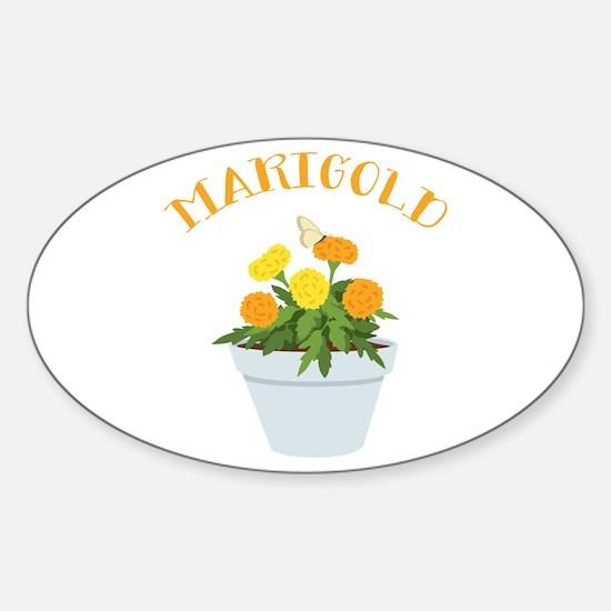 Marigold Decal
