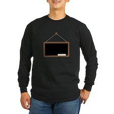 Chalk Board Long Sleeve T-Shirt