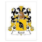 Revel Family Crest Small Poster