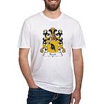 Revel Family Crest Fitted T-Shirt