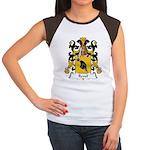 Revel Family Crest Women's Cap Sleeve T-Shirt
