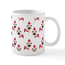 funny canadian pug with cupcake Mug