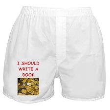 numismatist joke Boxer Shorts