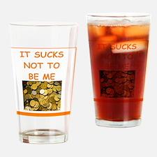numismatist joke Drinking Glass