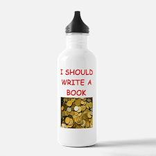 numismatist joke Water Bottle