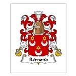 Remond Family Crest Small Poster