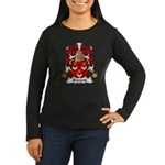 Remond Family Crest Women's Long Sleeve Dark T-Shi