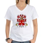 Remond Family Crest Women's V-Neck T-Shirt