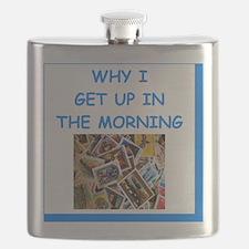 philately humor Flask