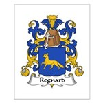 Regnard Family Crest Small Poster