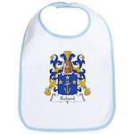 Reboul Family Crest  Bib