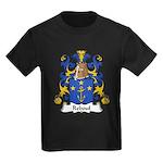 Reboul Family Crest  Kids Dark T-Shirt