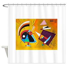 Cute Painter Shower Curtain