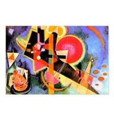 Unique Kandinsky Postcards (Package of 8)