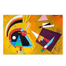 Cute Kandinsky Postcards (Package of 8)