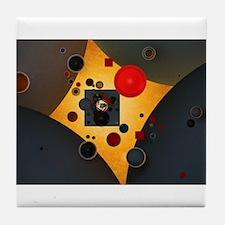 Geometric Tile Coaster