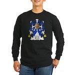 Reau Family Crest Long Sleeve Dark T-Shirt