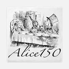Alice Wonderland Children's Books Stor Queen Duvet