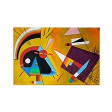 Wassily Kandinsky Russian Painter Abstract Magnets