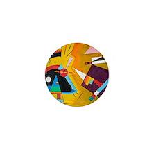 Wassily Kandinsky Russian Painter Abst Mini Button