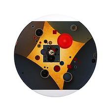 """Wassily Kandinsky Russian P 3.5"""" Button (100 pack)"""