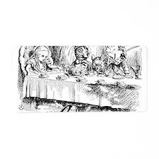 Alice Wonderland Children's Aluminum License Plate