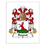Raynal Family Crest Small Poster