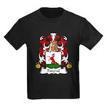 Raynal Family Crest Kids Dark T-Shirt