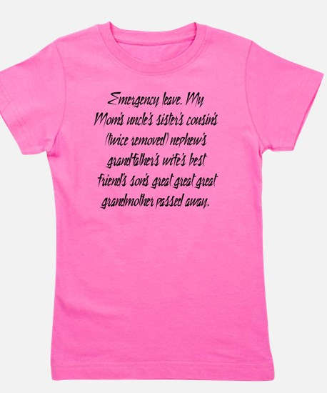 Leave PhD Girl's Tee
