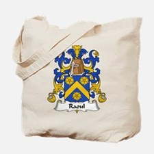 Raoul Family Crest  Tote Bag