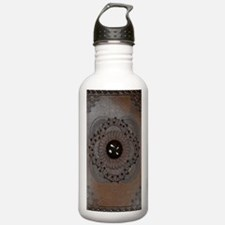 Leather Journal Water Bottle