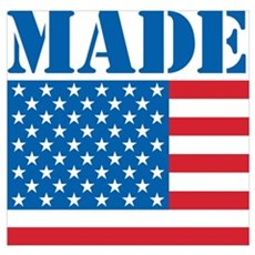 Made in the USA Poster