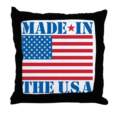 Made in the USA Throw Pillow by listing-store-45838988