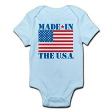 Made in the USA Body Suit