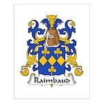 Raimbauld Family Crest Small Poster