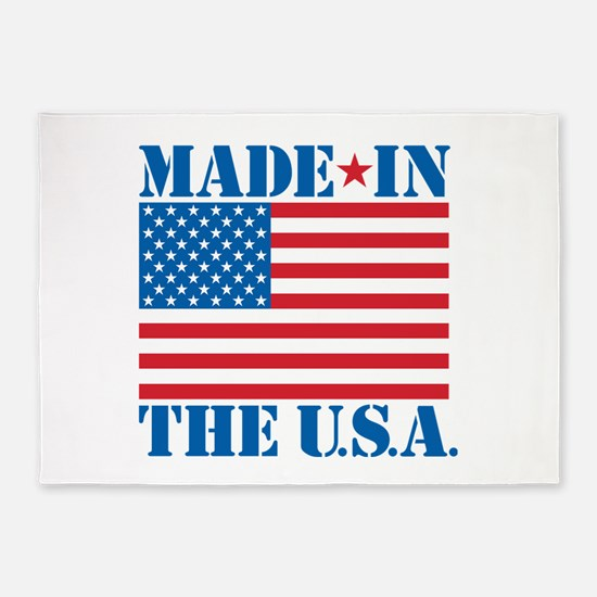 Made in the USA 5'x7'Area Rug