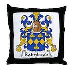 Raimbauld Family Crest Throw Pillow