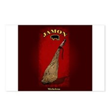 jamon Postcards (Package of 8)