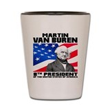 Democratic presidents Shot Glasses
