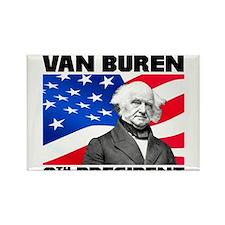 08 Van Buren Rectangle Magnet