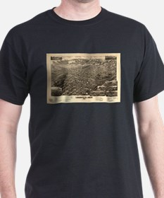 Vintage Pictorial Map of Leadville CO (188 T-Shirt