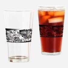 Guernicaracas Drinking Glass