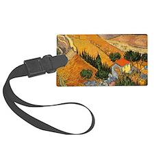 Van Gogh Valley w Ploughman Luggage Tag