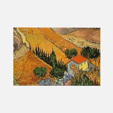 Van Gogh Valley Ploughman Magnets