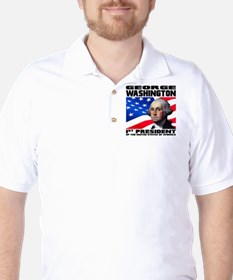 01 Washington Golf Shirt