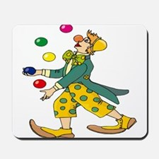 Clown Juggling Mousepad