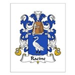 Racine Family Crest Small Poster