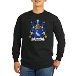 Racine Family Crest Long Sleeve Dark T-Shirt
