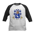 Racine Family Crest Kids Baseball Jersey